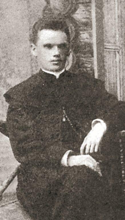 Ks. Wacław Pacewicz, zdjęcie pochodzi z początku XX w.