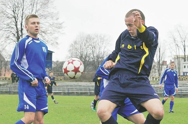 W akcji Jakub Nabzdyk (z prawej) i Andrzej Dorniak