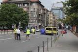 Tragiczny wypadek w Katowicach. Drastyczne zdjęcie ciała kobiety wyciekło do internetu. Jak do tego doszło? Sprawę zbada policja