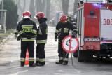 Pożar w Kotowicach pod Siechnicami gasiło pięć zastępów straży pożarnej