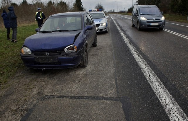 Dzisiaj (28 grudnia) po południu, w miejscowości Włynkówko doszło do kolizji drogowej. Kierowca samochodu osobowego marki Opel, nie zachował ostrożności i wjechał w tył samochodu marki Skoda.