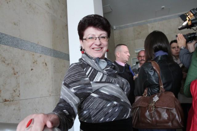 Po wyjściu z sali rozpraw, pani Urszula nie kryła radości