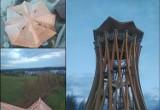 Pobłędzie. Kolejna wieża widokowa już gotowa. Stańczyki mają taką samą