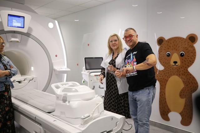 Kosmiczny rezonans w Górnośląskim Centrum Zdrowia Dziecka dzięki Wielkiej Orkiestrze Świątecznej Pomocy