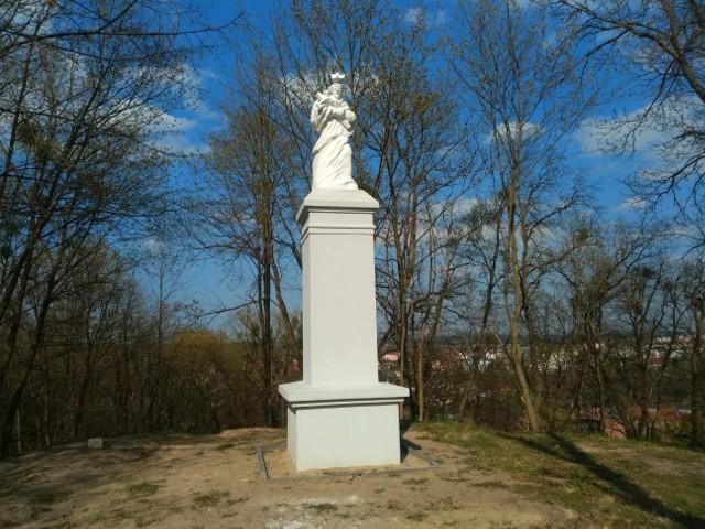 Święty Jan Nepomucen wrócił na Grabinę, czyli na wzgórza okalające Koronowo