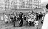 Dożynki w Jastrzębiu 40 lat temu. Górnicy bawili się ze śmietanką Solidarności. Zobaczcie unikatowe zdjęcia