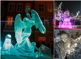 Najpiękniejsze lodowe rzeźby, które stanęły w Poznaniu