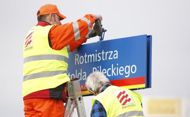 W Bielawie zamiast Karola Marksa patronem ulicy będzie teraz Rotmistrz Witold Pilecki