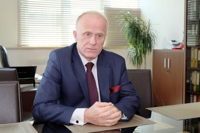Piotr Radziwon, dyrektor Regionalnego Centrum Krwiodawstwa i Krwiolecznictwa w Białymstoku