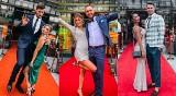 Goście weselni na ślubie Mateusza Bieńka. Szampańska zabawa siatkarzy kadry. Piękne kreacje na czerwonym dywanie [ZDJĘCIA, WIDEO]