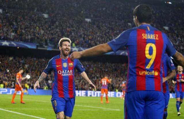 FC Barcelona - Manchester City 4:0. Bramki, skrót meczu YOUTUBE