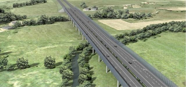 Tak będzie wyglądać droga ekspresowa S3, prowadząca od węzła Kamienna Góra Północ do węzła Lubawka przy granicy z Czechami