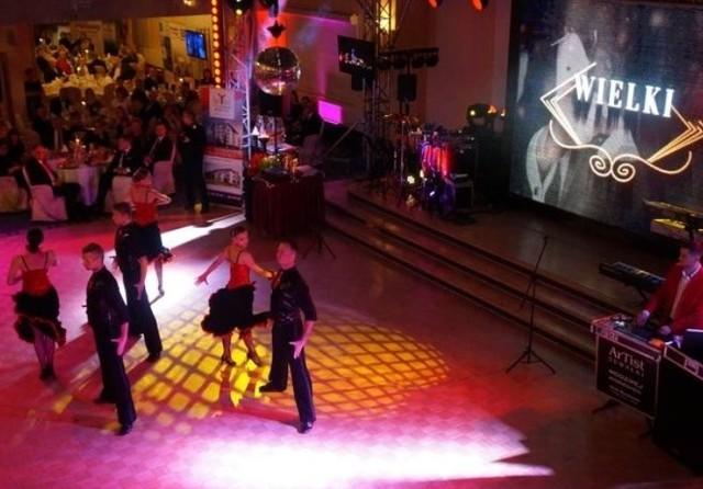 Przed gośćmi wystąpiła w przepięknych pokazach tańca Formacja Kadryl ze Studia Tańca Justyna&Gracjan, Mistrzowie Polski i Mistrzowie Świata.