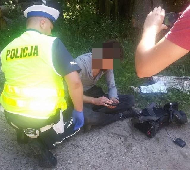 Puszcza Białowieska. Operator Polsat News został pobity podczas kręcenia programu o wycince