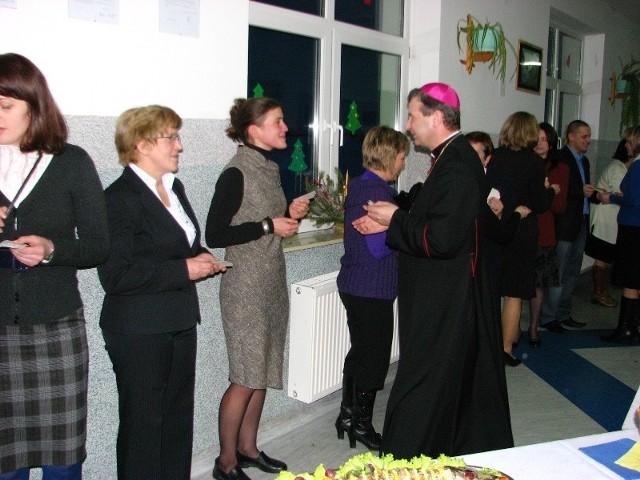 Wigilia z biskupem w Andrzejewie