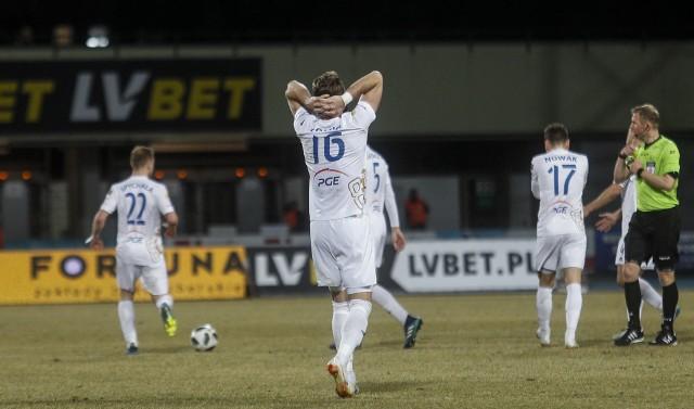 W meczu na szczycie Fortuna 1 ligi PGE Stal Mielec przegrywa u siebie z ŁKS-em Łódź 0:1. Mielczanie doznali porażki po 14 meczach ze zdobyczą punktową. RELACJA Z MECZU