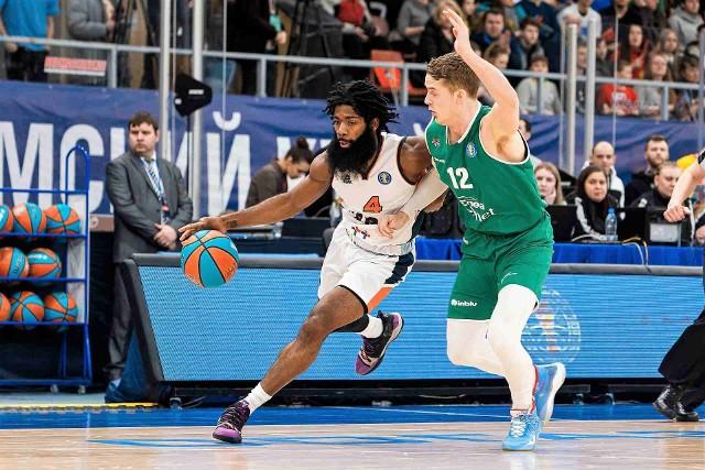 Koszykarze Stelmetu Enei BC Zielona Góra przegrali z Parmą Perm.