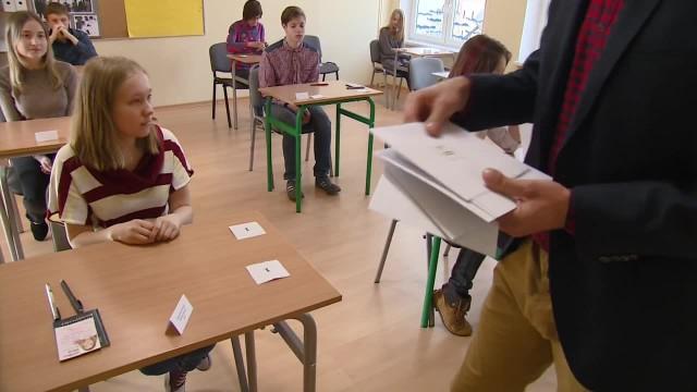 Uczniowie z Białorusi zdawali egzaminy gimnazjalne w Gdańsku
