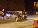 Wypadek w Zielonkach. Kobieta wymusiła pierwszeństwo na skrzyżowaniu