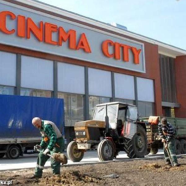 Cinema City chwilę przed otwarciem
