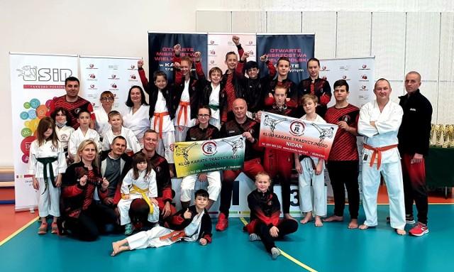 Karatecy z KK Nidan Zielona Góra zdobyli aż 37 medali na Otwartych Mistrzostwach Wielkopolski.