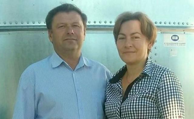 Magalena i Andrzej Pileccy z Osogóry.