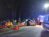 Śmiertelny wypadek w Jeziórkach w gminie Osiek w powiecie brodnickim. Nie żyje 22-latek