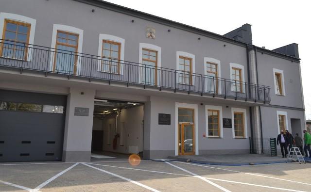 Wyremontowany budynek OSP i kina Górnik.