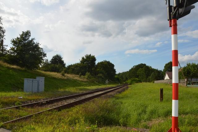 Przejazd kolejowy na osiedlu Moczyń