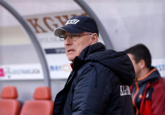 Orest Lenczyk, trener Zagłębia Lubin
