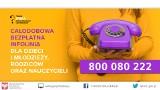 800 080 222 – ruszyła całodobowa bezpłatna infolinia dla dzieci, młodzieży, rodziców i pedagogów