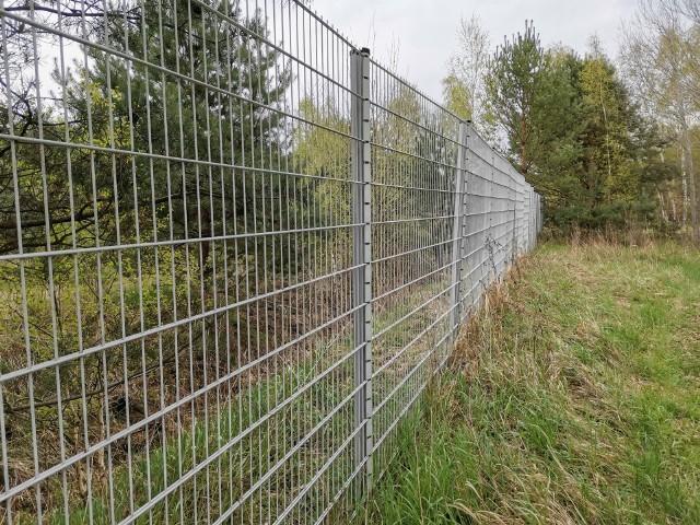 Na działkach po byłym przejściu granicznym w Gubinku grasują złodzieje i... kradną ogrodzenie.