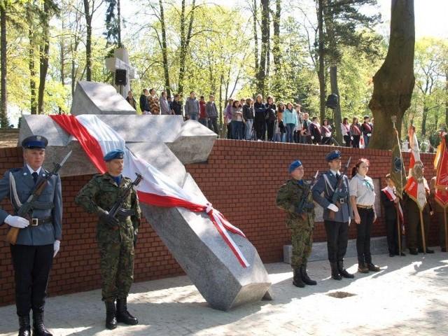 Krzyż Wołyński na Starym Cmentarzu w Słupsku