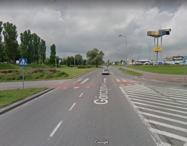 Do potrącenia doszło na ul. Górczyńskiej, tuż za rondem.