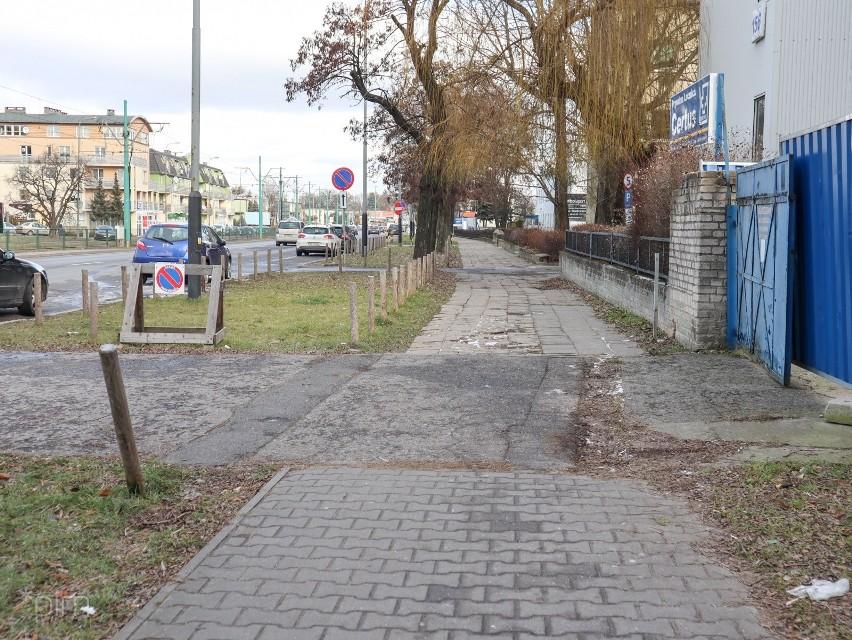 Droga rowerowa między rondem Skubiszewskiego i...