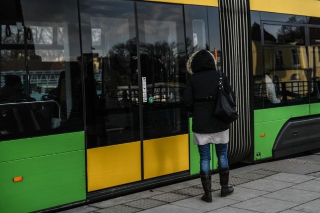 Kolizja z tramwajem na Głogowskiej