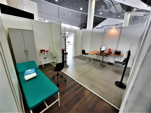 Punkt szczepień masowych przeciw koronawirusowi w Koszalinie