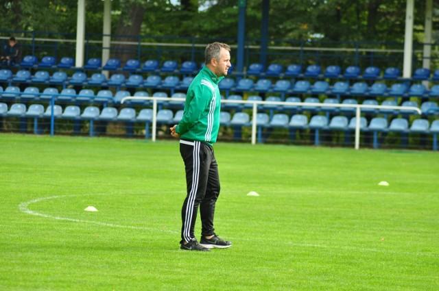 Jacek Magnuszewski, trener Radomiaka Radom.