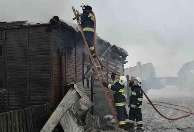 W tragicznym pożarze w msc. Skaje zginęła 84-letnia kobieta