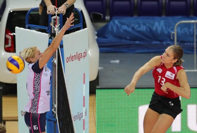 Chorwatka Beta Dumancic w ostatnim meczu z Atomem Trefl Sopot zdobyła dla PTPS 9 punktów