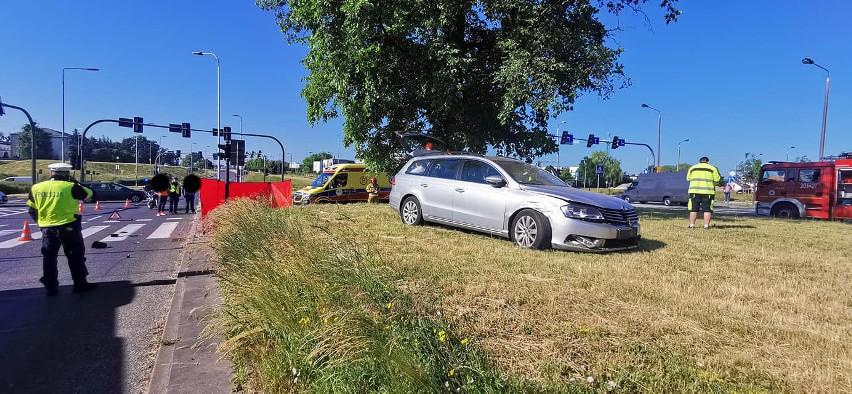 14 czerwca na rondzie Inowrocławskim w Bydgoszczy doszło do...
