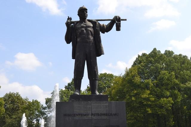 Czy pomnik Wincentego Pstrowski zniknie z Zabrza? Wiele na to wskazuje