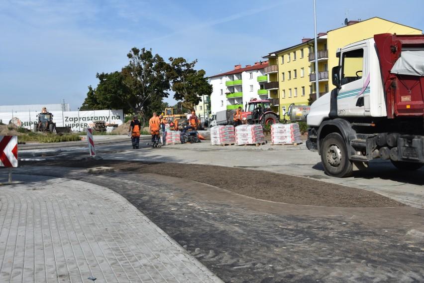 Inwestycje drogowe w rejonie ul. Tysiąclecia i Kcyńskiej w...
