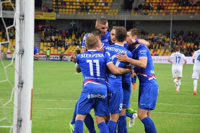 Podbeskidzie Bielsko-Biała pokonało Olimpię Grudziądz i wygrało swój drugi mecz w tym sezonie
