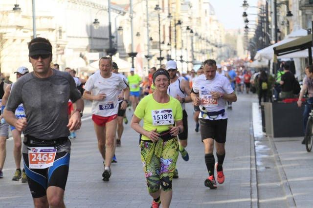 Start DOZ Maraton Łódź 2018