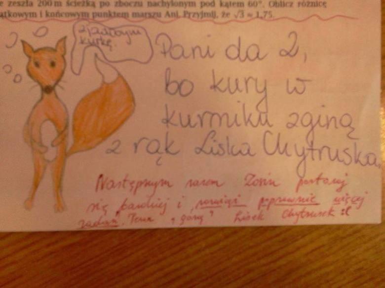 Trudno uwierzyć, co na klasówkach potrafią pisać (i nie...
