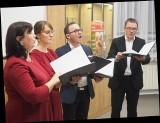 Ensemble QuattroVoce zaśpiewa wschodniosłowiańskie kolędy w Ratuszu (zdjęcia, wideo)