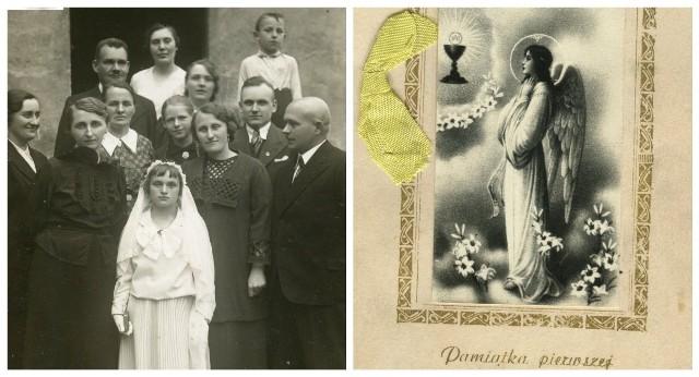 Dzieci komunijne na archiwalnych zdjęciach. Zobaczcie też dawne kartki z życzeniamiZobaczkolejnezdjęcia. Przesuwajzdjęcia w prawo - naciśnij strzałkę lub przycisk NASTĘPNE