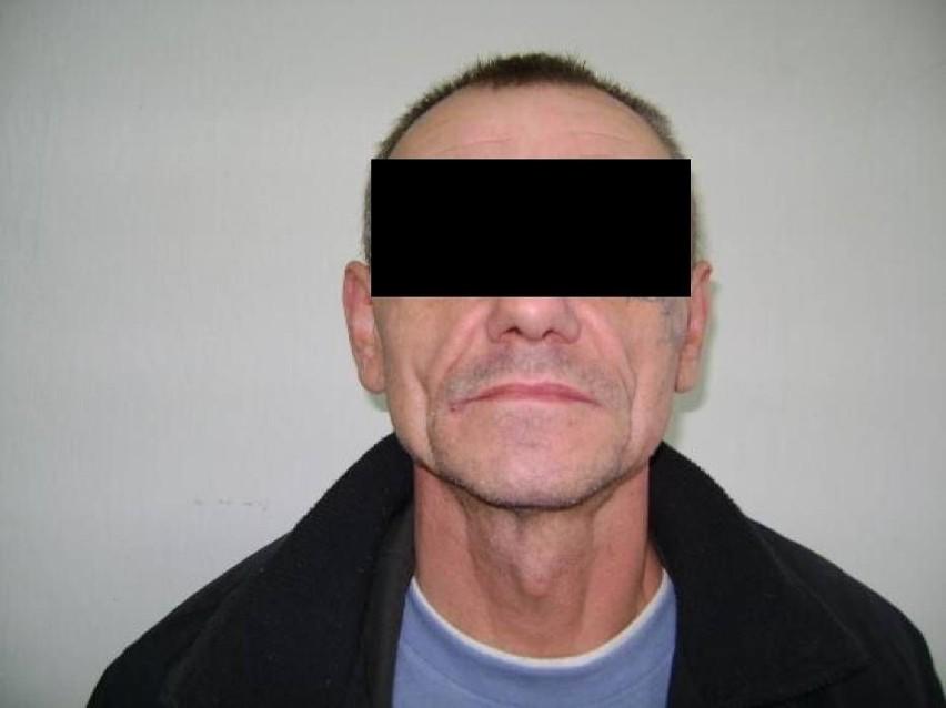 - Krzysztof K. został zatrzymany przez policjantów...