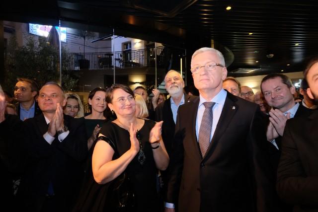 Wybory samorządowe 2018: Jacek Jaśkowiak komentuje wyniki pierwszej tury w Poznaniu